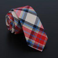 10-Patterns-New-British-style-Cotton-Linen-6cm-Plaid-Neck-tie-Men-Formal-Skinny-Business-Wedding_4