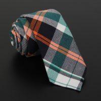 10-Patterns-New-British-style-Cotton-Linen-6cm-Plaid-Neck-tie-Men-Formal-Skinny-Business-Wedding_6