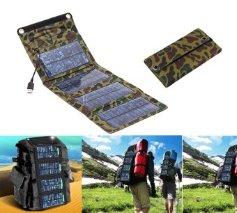 Folding Solar Panel Power Source