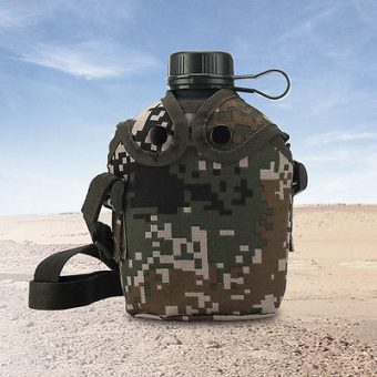 Camouflaged Drinking Canteen