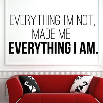 Everything I'm Not Made Me Everything I Am – Kanye West Wall Art