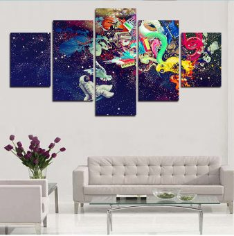 Cool Universe 5 Piece Wall Art