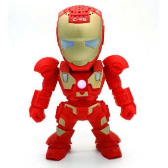 Wireless Iron Man Bluetooth Speaker