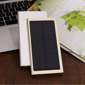 Solar Powered Battery Charger Bank