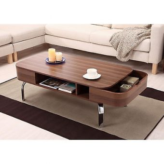 Solid Modern Coffee Table