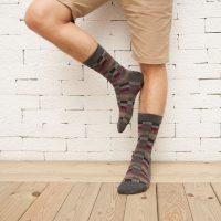 HX083-6513-New-Autumn-Winter-Cotton-Men-Socks-Wholesale-Korean-Classic-Plaid-Socks_3
