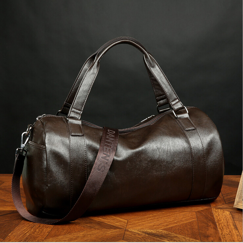 b43dbfa53655 Leather Travel Duffle Bag