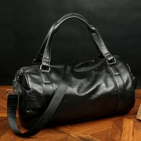 High-Quality-Gym-Tote-Leather-Travel-Bag-Pattern-Fashion-Men-Sport-Weekend-Bags-Duffle-Business-Luggage