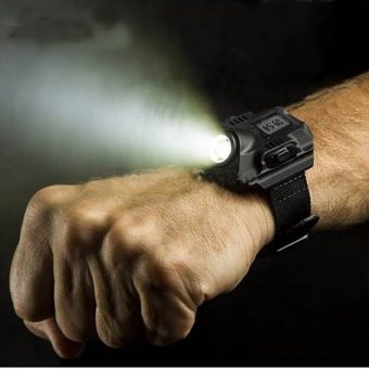 Tactical LED Wrist Flashlight