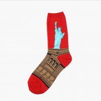 New-harajuku-Europe-USA-Washington-male-Cupid-Retro-Art-Oil-Painting-Style-men-sock-Pure-Cotton (7)