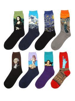 Artsy Fartsy Men's Socks
