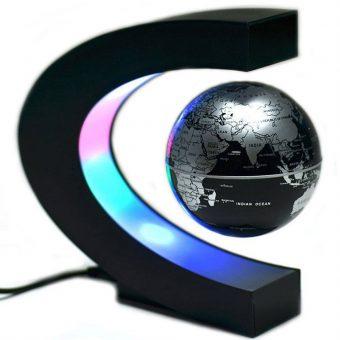 Levitating LED Globe