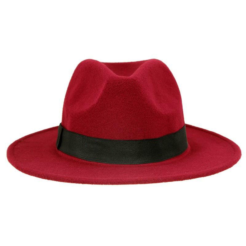 Godfather Wide Brim Felt Hat – Uno   Company 2bc31fbd8eb5