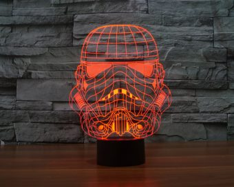 Star Wars Color Changing LED Lamps