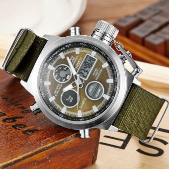 Ohsen Canvas Strap Watch