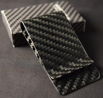 Genuine Carbon Fiber Cash Clip