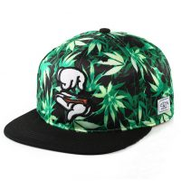 Summer-Style-Fashion-Men-Women-Hat-Snapback-Cap-Finger-Weed-Leaf-Mujer-Beisbol-Baseball-Cap-Hip_1