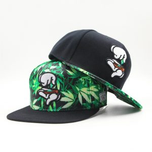 Summer-Style-Fashion-Men-Women-Hat-Snapback-Cap-Finger-Weed-Leaf-Mujer-Beisbol-Baseball-Cap-Hip_3