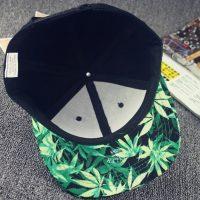 Summer-Style-Fashion-Men-Women-Hat-Snapback-Cap-Finger-Weed-Leaf-Mujer-Beisbol-Baseball-Cap-Hip_5