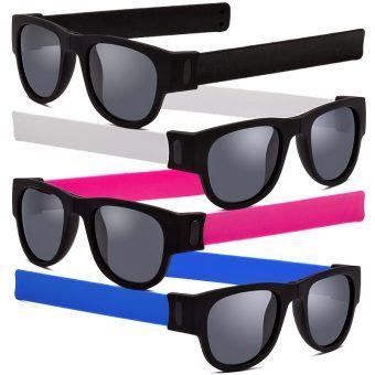 Slapsee Folding Sunglasses for Men and Women
